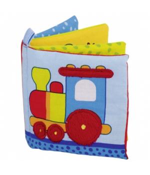 Мягкая книжка для малышей из ткани, Goki