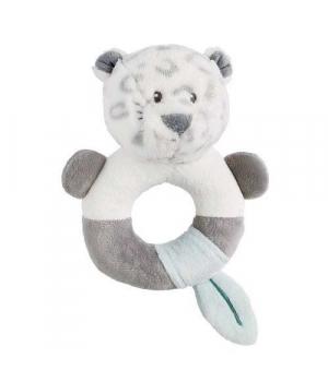 Погремушка с кольцом внутри, Леопард, Nattou
