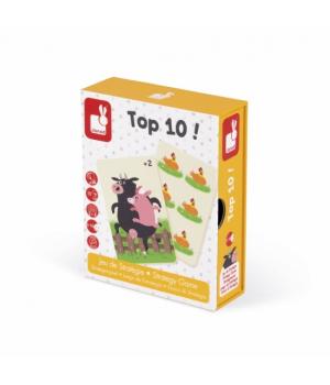 Настольная игра для детского сада Мемо Топ 10 Janod