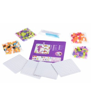 Мозаика детская пластиковая Colour ful designs (420 эл.) Same Toy