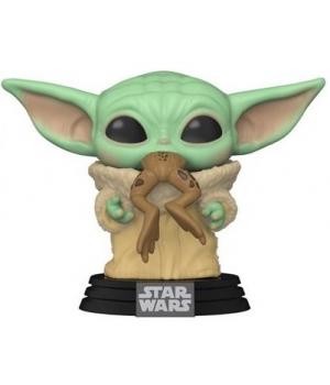 Колекційна фігурка Funko POP! Star Wars: Mandalorian: The Child & Frog