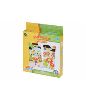Детская геометрическая мозаика Home series (123 эл.) Same Toy