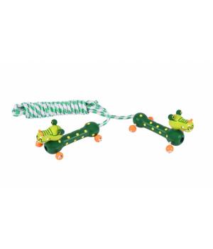 Детская скакалка для детей от 6-7 лет, (Крокодил), Goki