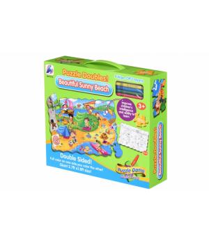 Same Toy Пазл-розмальовка Сонячний пляж