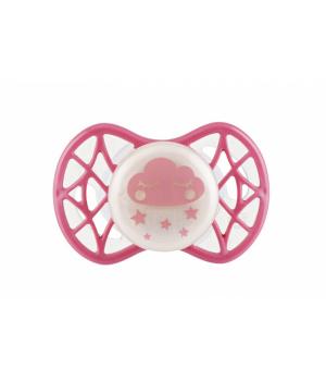Пустышка для новорожденного от 0-мес, симетричная (светится в темноте), Air55 Cool, Nuvita