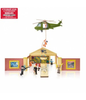 Роблокс набор Ограбление Музея - Jailbreak: Museum Heist W6