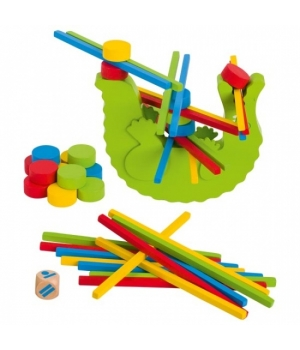 Балансир деревянная развивающая игрушка, Goki