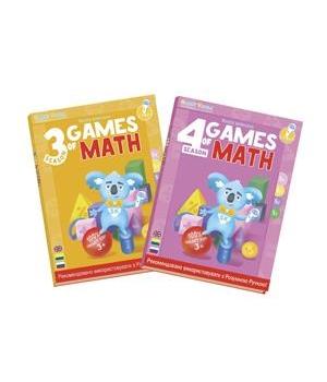 """Smart Koala Набір інтерактивних книг """"Ігри математики"""" (3,4 сезон)"""