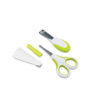 Nuvita Набір по догляду за дитиною (безпечні ножиці з акс.) [NV1138Lime]