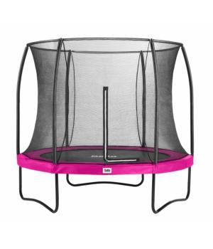 Детский батут Salta Comfort Edition круглый 213 см Pink