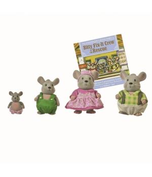 Li`l Woodzeez Набір фігурок - Сім'я Мишей