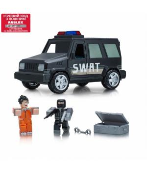 Игрушки Роблокс побег из тюрьмы - Roblox Feature Vehicle Jailbreak: SWAT Unit W4, Jazwares