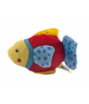 Мягкая погремушка Рыбка с голубым хвостом (65099G-3), Goki