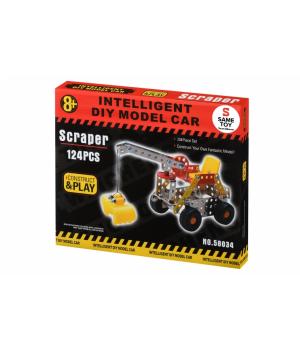 Same Toy Конструктор металевий - Скрепер (124 ел.)