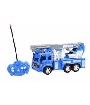 Same Toy Машинка на р/к CITY Кран (синій)