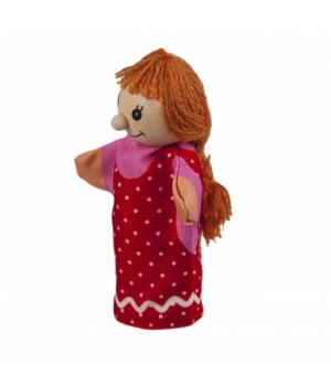 goki Лялька для пальчикового театру - Дівчинка