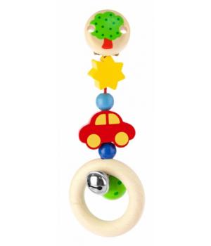 Игрушка подвеска на коляску со звоночком, Машинка, Heimess
