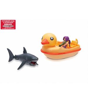 Игрушка Роблокс Акула и Лодка Утка - SharkBite: Duck Boat W2