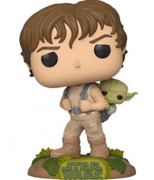 Колекційна фігурка Funko POP! Star Wars: Training Luke with Yoda