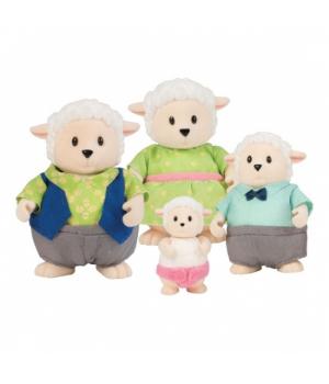 Li`l Woodzeez Набір фігурок - Сім'я овечок