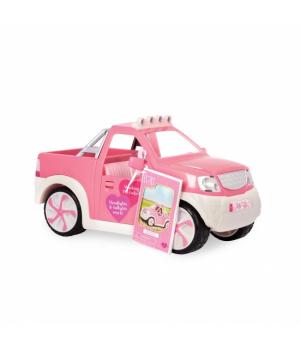 LORI Транспорт для ляльок - Джип (рожевий) з FM радіо