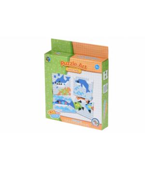 Детская геометрическая мозаика Ocean series (136 эл.) Same Toy