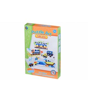 Детская геометрическая мозаика Traffic series (222 эл.) Same Toy