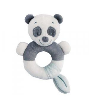 Погремушка с кольцом внутри, Панда, Nattou