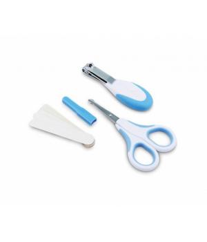 Nuvita Набір по догляду за дитиною (безпечні ножиці з акс.) [NV1138Blue]