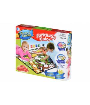 Same Toy Пазл-розмальовка Джунглі