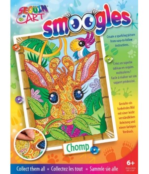 Картина из пайеток для детей набор для детского творчества Жираф Sequin Art