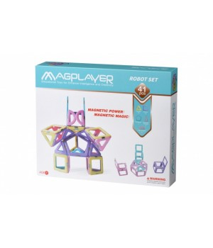 MagPlayer Конструктор магнітний набір 41 ел. (MPH2-41)
