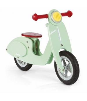 Деревянный беговел скутер, для детей от 3 лет, Janod
