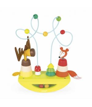 Балансир детский игрушка, животные, Janod