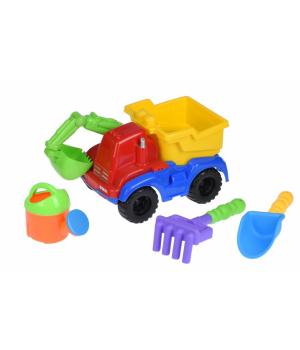 Детский набор для песка с Машинкой-Экскаватором 30 cv, Same Toy