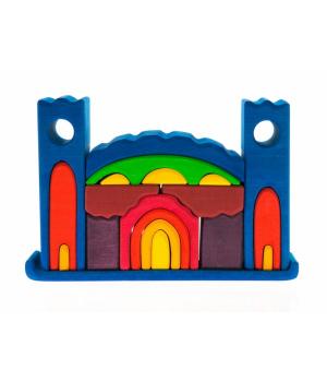 Детский деревянный конструктор Замок nic