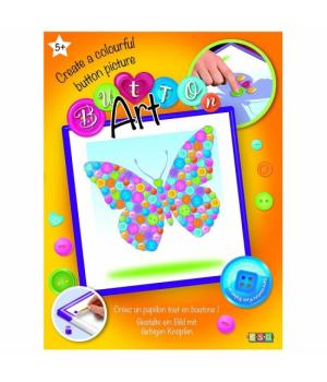 Sequin Art Набір для творчості BUTTON Butterfly