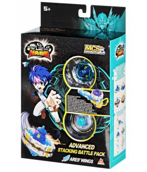 Инфинити надо Крылья Ареса V серия,с магнитной запускалкой, Infinity Nado Advanced Edition Ares' Wings, Auldey