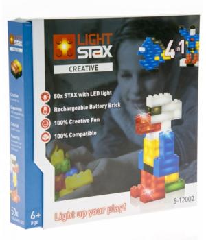 Конструктор светящийся в темноте, с LED подстветкой, LIGHT STAX