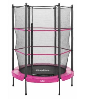Детский батут Salta Junior trampoline круглый 140 см Pink
