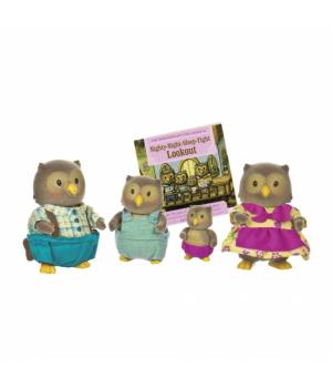 Li`l Woodzeez Набір фігурок - Сім'я Сов