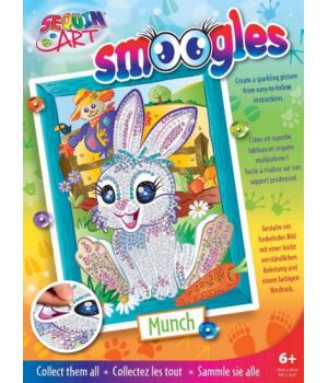 Картина из блесток для детей набор для детского творчества Зайчик Sequin Art