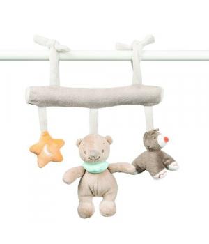 Мягкая подвеска на кроватку (на липучках) Nattou