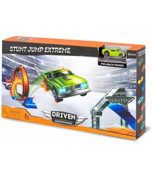 DRIVEN Игровой набор TURBOCHARGE STUNT JUMP EXTREME 16 эл.