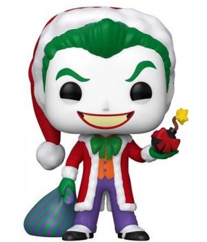 Колекційна фігурка Funko POP! DC: Holiday: Santa Joker