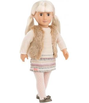 Our Generation Лялька Аріа (46 см) в пуховому жилеті