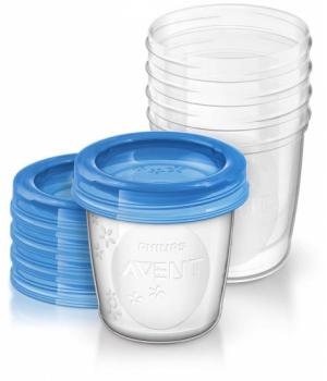 Avent Контейнери для зберігання грудного молока 5х180мл