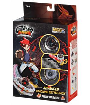 Инфинити Надо Огненный дракон, с магнитной запускалкой, 5 серия, Infinity Nado Advanced Edition Fiery Dragon, Auldey