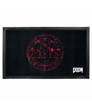 "Gaya Підлоговий килимок Doom ""Pentagram"""