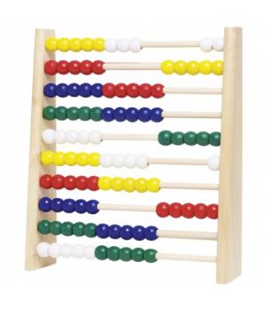 Детские игрушечные счеты с рамкой, goki